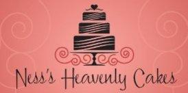 The original Ness's Heavenly Cakes logo