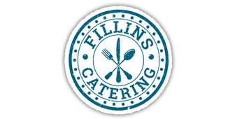 The Fillins Catering logo, designed by it'seeze