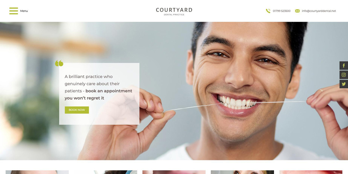 The new Courtyard website from it'seeze