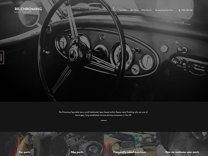 An example of a Lite website created by it'seeze