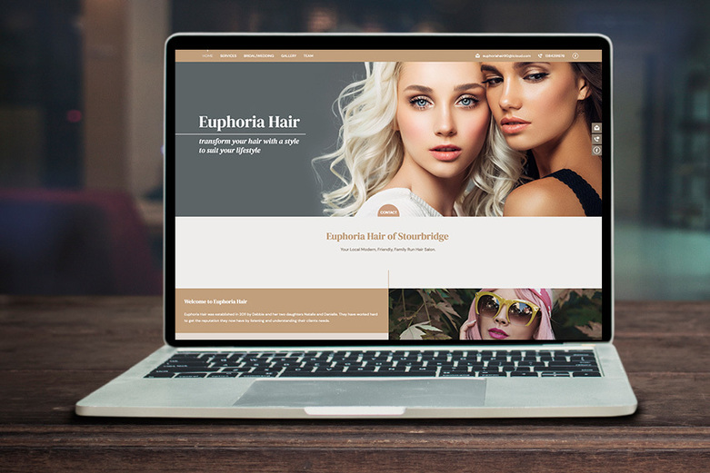A Lite website shown on a laptop screen