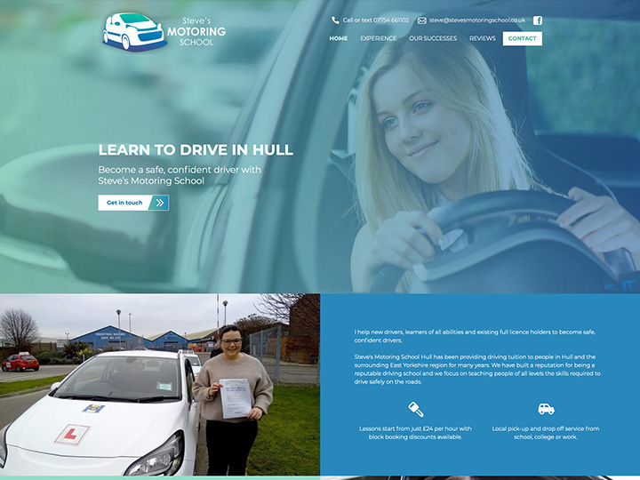 An example of a Plus website created by it'seeze