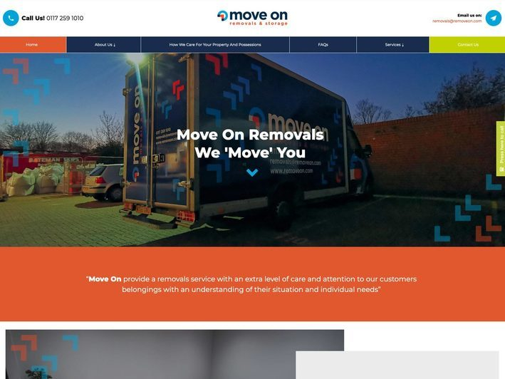 The Move On website created by it'seeze